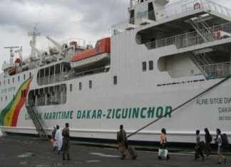 cas suspect dans le bateau Aline Sitoé Diatta, les passagers confinés