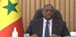 Le Président Macky Sall fera une déclaration à la Nation ce lundi