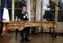 Emmanuel Macron s'exprime au sujet de la pandémie de coronavirus