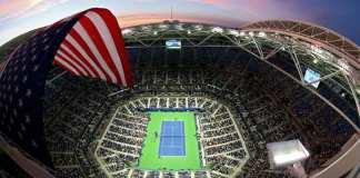 Une vue générale du stade Arthur Ashe à l'USTA Billie Jean King National Tennis Center pendant l'US Open. (Getty Images)