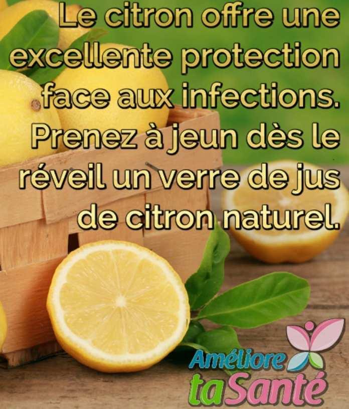 Remèdes naturels au citron