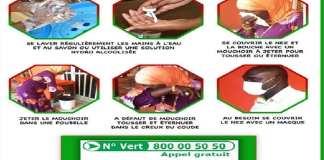 Dakarois appellent au respect des mesures de protection