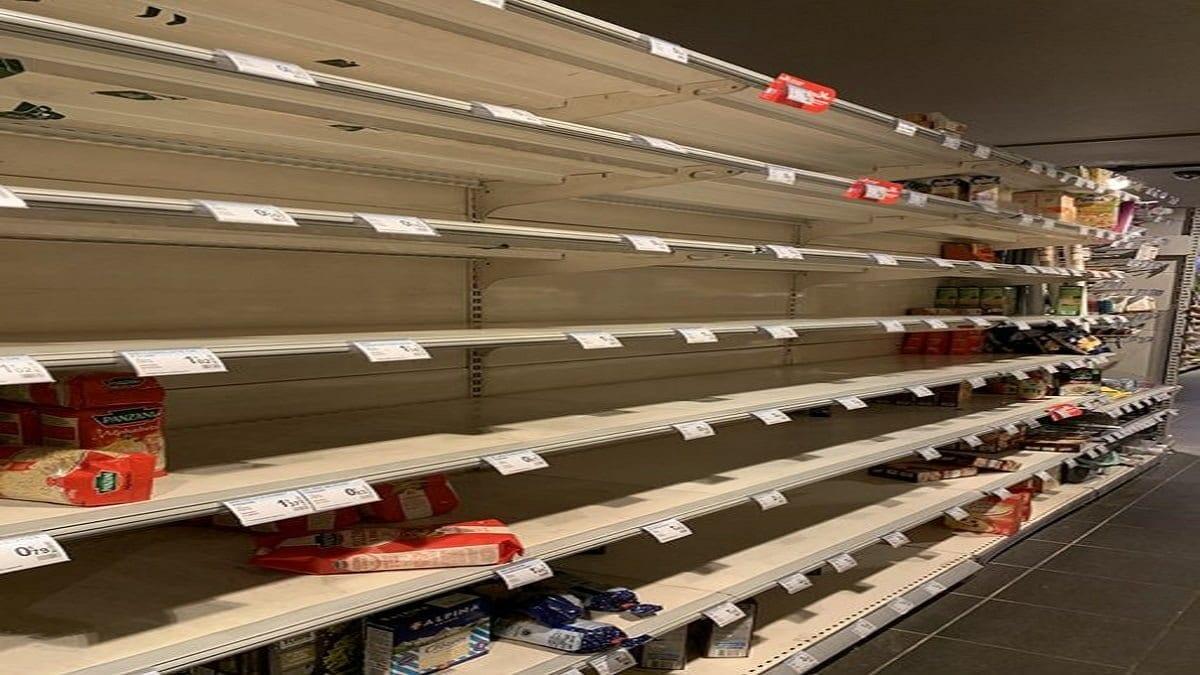 les supermarchés français d'assaut ce lundi matin