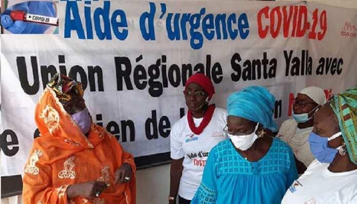 Kits alimentaires pour des femmes vulnérables de Ziguinchor