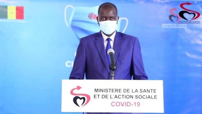 Docteur Aloyse Wally DIOUF, Porte-Parole du Ministère de la Santé et de l'Action sociale+