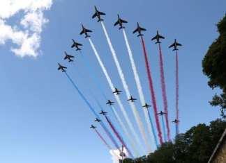 14-Juillet le survol de la Patrouille de France interdit à Lyon