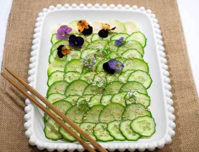 La recette du concombre en gelée, estival et original++