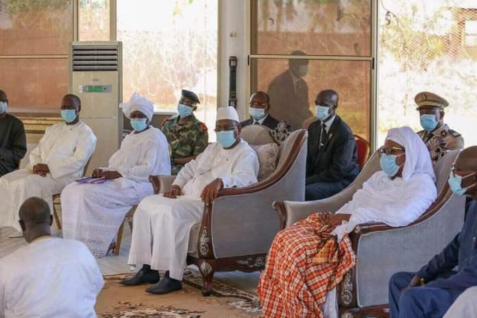 Présentation de condoléances et celles de la Nation à la famille de Feu Babacar Touré