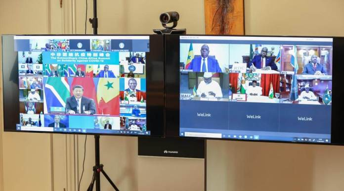 Sommet extraordinaire sino-africain de solidarité contre la Covid-19