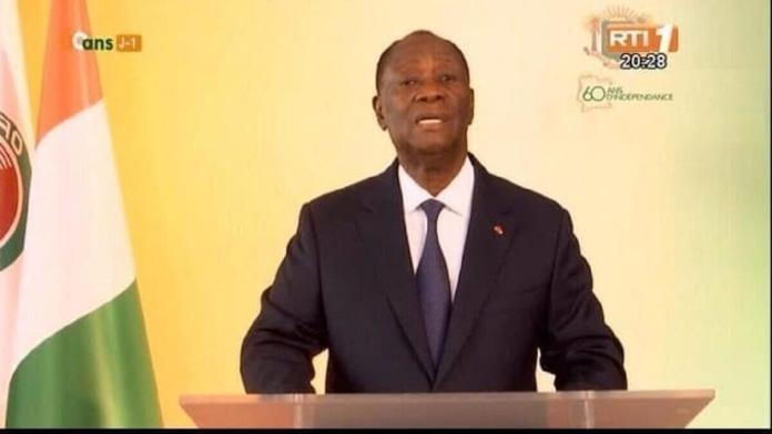 Alassane Ouattara , candidat pour le 3e mandat