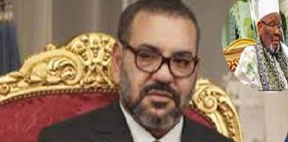 Rappel à Dieu du Khalife de Médina Baye Le roi du Maroc parle de perte d'une éminente personnalité soufie