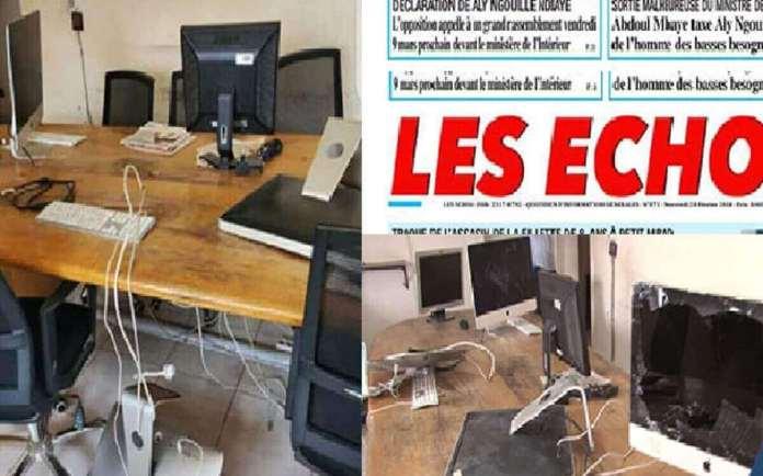 Saccage du siège de Les Echos Une agression ignoble (CDEPS)