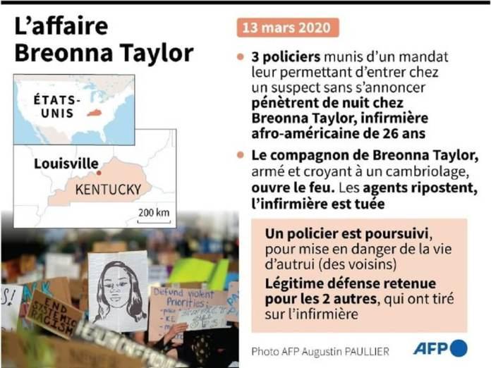 Les soutiens de Breonna Taylor appellent à transformer la colère en vote