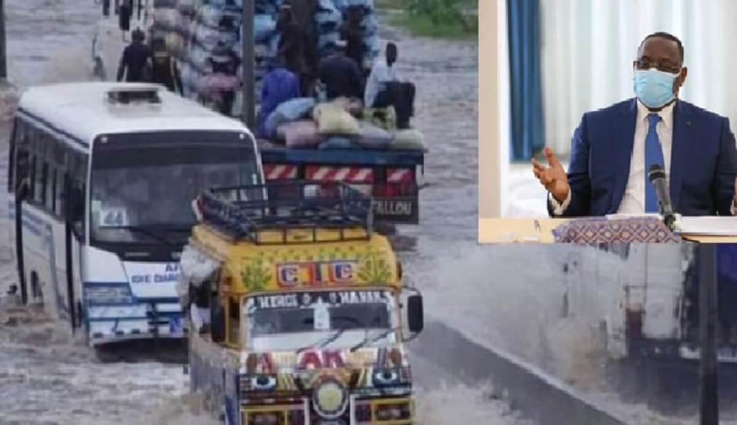 Macky Sall annonce la poursuite du Plan Décennal de lutte contre les inondations