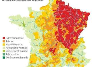 Sécheresse l'été 2020 bat le record en France