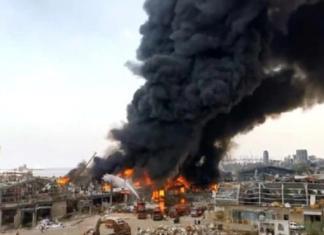 Un violent incendie frappe le port de Beyrouth (VIDÉO )