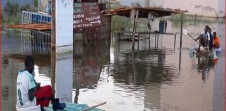 Nous vivons dans des maisons inondées depuis un mois-Capture