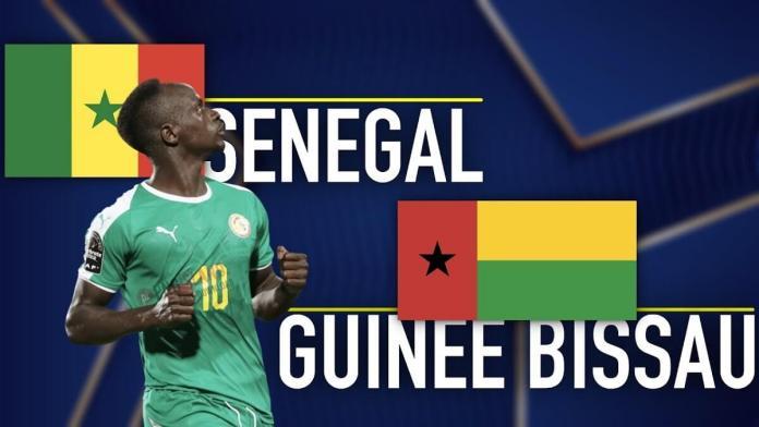 🔴Suivez en direct le match Sénégal Vs Guinée Bissau (01-00