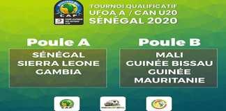 Coup d'envoi ce vendredi du tournoi UFOA A qualificatif à la CAN U20