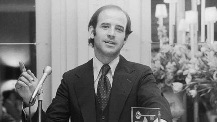 En 1974, Joe Biden était le plus jeune sénateur américain
