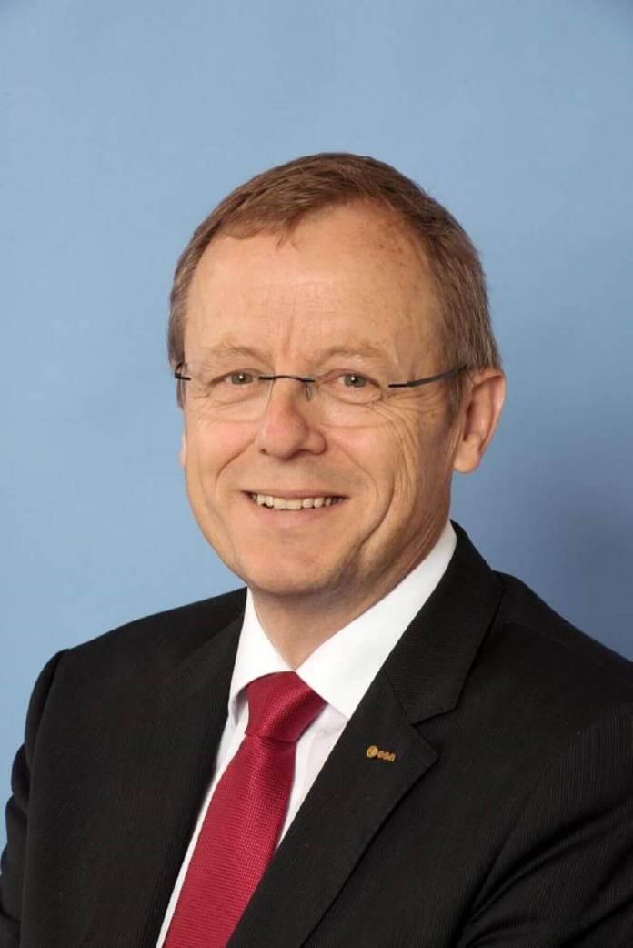 Johann-Dietrich Wörner, directeur général de l'ESA