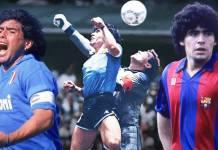 Maradona Les pages de légende d'une carrière unique