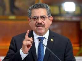Pérou démission du président par intérim Manuel Merino