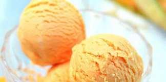 glace-au-miel-et-sorbet-au-melon