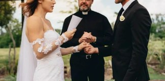 Bride-reads-husbands-cheating-texts-instead-of-wedding-vows