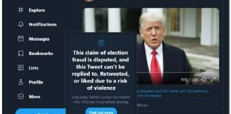 [MISE À JOUR] Twitter désactive les réponses, les mentions J'aime et les retweets pour les messages Trump invoquant un risque de violence