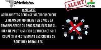 Coupure d'internet et Tensions post-électorales au Niger Que mijote le régime sortant