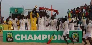 CAN Beach Soccer www.kafunel.com le Sénégal sur le toit du continent