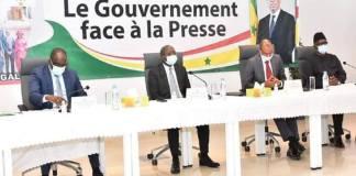 Gouvernement-face-presse- www.kafunel.com Gouvernement face à la presse la 6e séance reportée à vendredi 21 mai