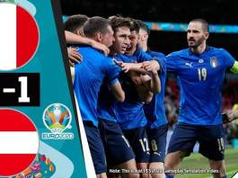 Italy vs Austria 2 - 1 www.kafunel.com higlight all Goal Euro2021