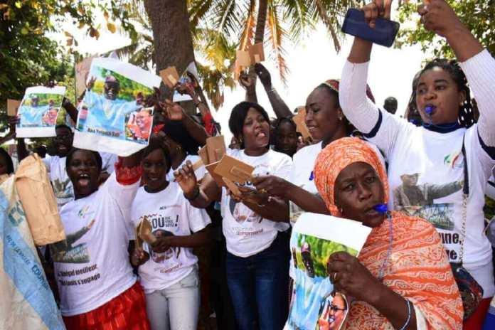 [Photos] Tournée économique www.kafunel.com - 2 Saint-Louis déroule le tapis rouge à Macky Sall