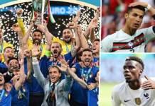 Le onze type de l'Euro 2020