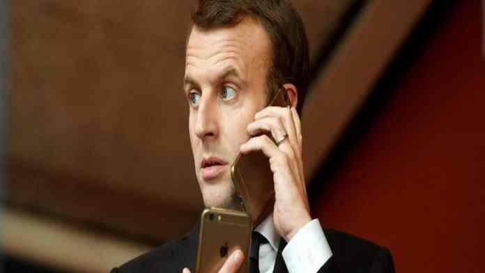 France www.kafunel.com le président Macron dans la liste des cibles potentielles du logiciel espion Pegasus