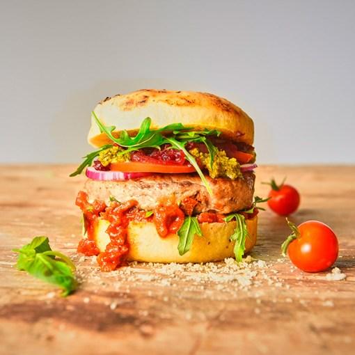 Burger bolleform