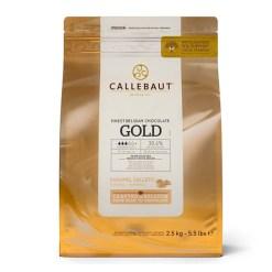 Callebaut Chokolade Gold