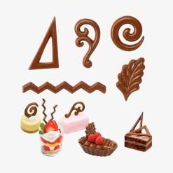 Chokoladeform Dessertpynt