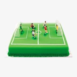 Fodboldkage dekoration
