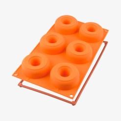 Donut silikoneform