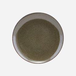 House Doctor Frokost tallerken, Lake, Grøn - Ø 21,4 cm