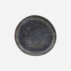 House Doctor Kagetallerken, Pion, Sort/Brun - Ø 16,5 cm