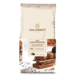Callebaut Mørk Chokolademousse – 75%, 800 g