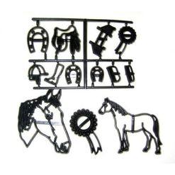 Heste udstikkersæt - Patchwork Cutters
