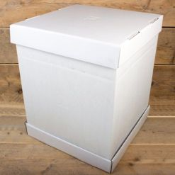 Kageboks Hvid, 52 x 52 x 70 cm – FunCakes