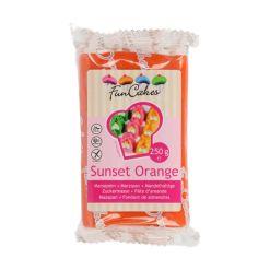 Marcipan Orange 250g - FunCakes