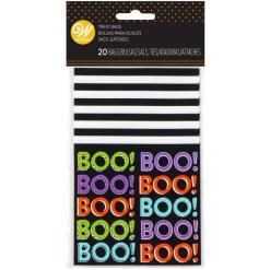 Pose, mini Halloween Boo 20 stk.