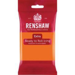 Renshaw Fondant Extra, Orange – 250g